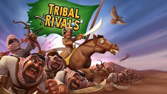 بازی اندروید قبایل حریف - Tribal Rivals