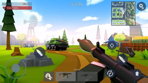 بازی اندروید قوانین نبرد - جنگ آنلاین کشتن - Rules Of Battle: Online FPS Shooter Gun Games