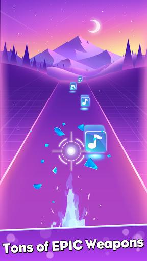 بازی اندروید بیت شات - Beat Shot 3D - EDM Music Game