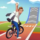 بازی پرش دوچرخه سوار دیوانه