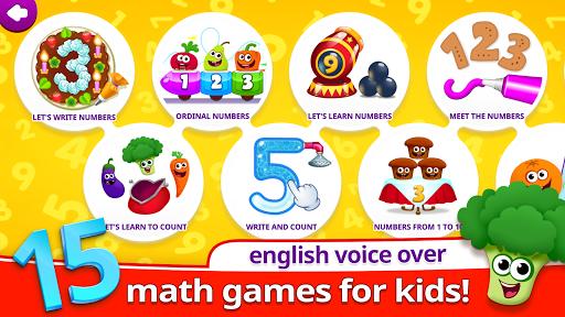 بازی اندروید خنده برای کودکان - Funny Food 123! Kids Number Games for Toddlers!