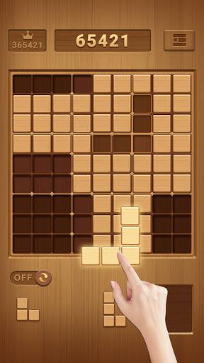بازی اندروید بازی سودوکو بلوک چوب - پازل کلاسیک رایگان مغز - Wood Block Sudoku Game -Classic Free Brain Puzzle