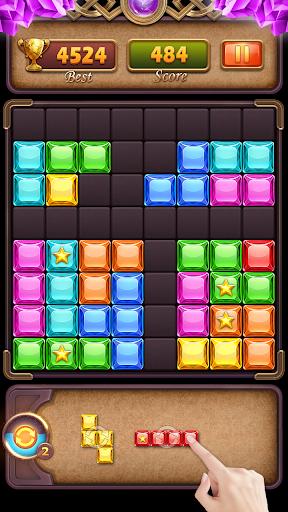 بازی اندروید بلوک پازل جواهر - Block Puzzle Jewel