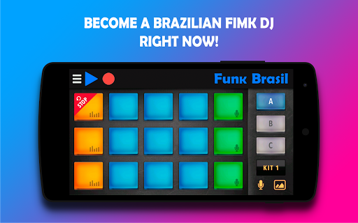 بازی اندروید موسیقی ریتمی - Funk Brasil - DJ, Hit me with that beat!