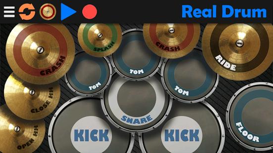 بازی اندروید درام واقعی - Real Drum
