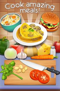 بازی اندروید کتاب استاد آشپزی - سرآشپز - Cookbook Master - Be the Chef!