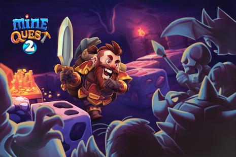بازی اندروید معدن کاوی 2 - Mine Quest 2 - Mining RPG
