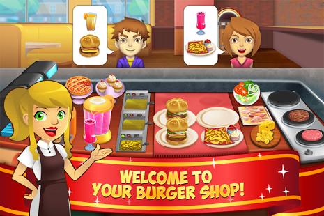 بازی اندروید مغازه برگر من 2 - فروشگاه خوراکی - My Burger Shop 2 - Food Store