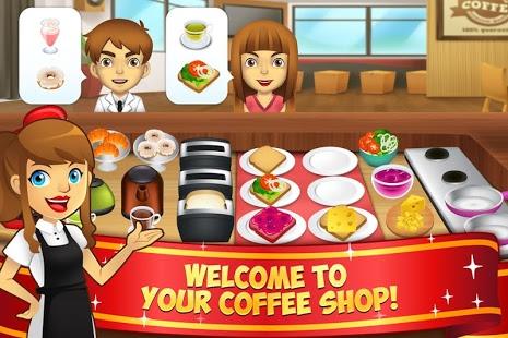 بازی اندروید کافی شاپ من - My Coffee Shop - Coffeehouse