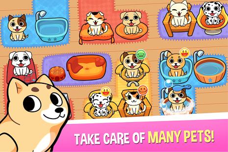 بازی اندروید فروشگاه حیوانات خانگی مجازی من - My Virtual Pet Shop - The Game