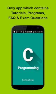 نرم افزار اندروید برنامه نویسی زبان سی - C Programming
