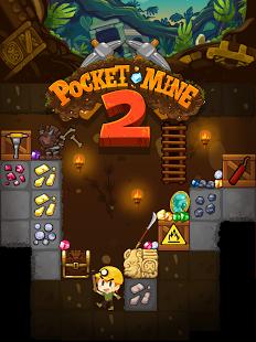 بازی اندروید پکت ماین 2 - Pocket Mine 2