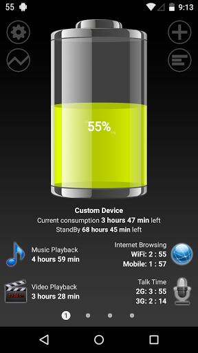 نرم افزار اندروید باطری اچ دی - Battery HD