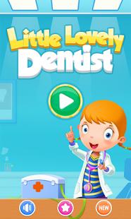 بازی اندروید دندان پزشک دوست داشتنی - Little Lovely Dentist