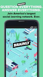 نرم افزار اندروید برینلی - کمک تکالیف - Brainly: Homework Help