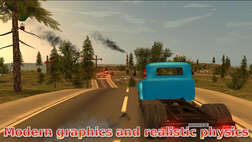 بازی اندروید راننده کامیون روسیه - Russian Car Driver  ZIL 130