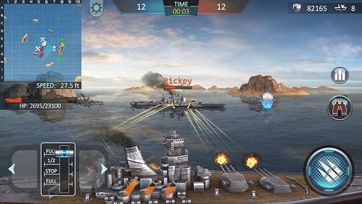 بازی اندروید کشتی جنگی - Warship Attack 3D