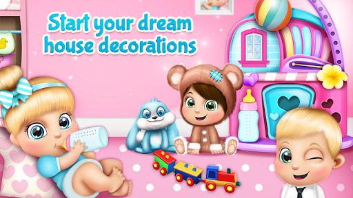 نرم افزار اندروید طراحی خانه رویایی عروسک - Doll House Games: Dream Home Design