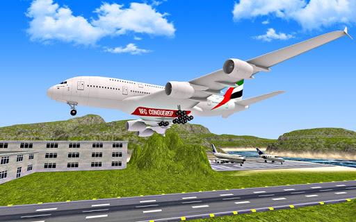 بازی اندروید پرواز هواپیما - Airplane Fly 3D : Flight Plane