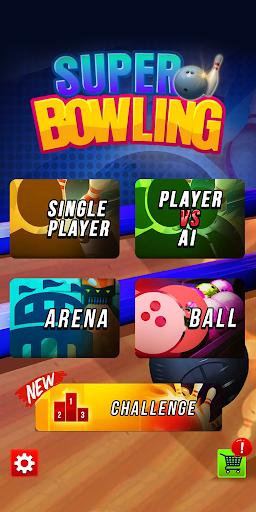 بازی اندروید سوپر بولینگ - Super Bowling
