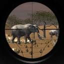 شکارچی حیوانات در آفریقا