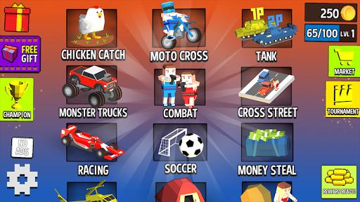 بازی اندروید بازی مکعبی - Cubic 2 3 4 Player Games
