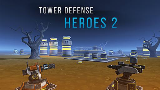 بازی اندروید قهرمانان دفاع برج 2 - Tower Defense Heroes 2