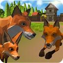 خانواده روباه - شبیه ساز سه بعدی حیوانات