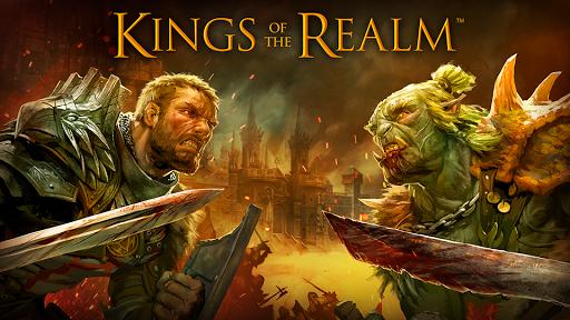 بازی اندروید پادشاهان قلمرو - Kings of the Realm - MMORTS