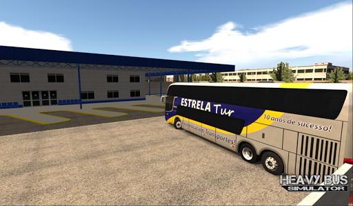 بازی اندروید شبیه ساز اتوبوس سنگین - Heavy Bus Simulator