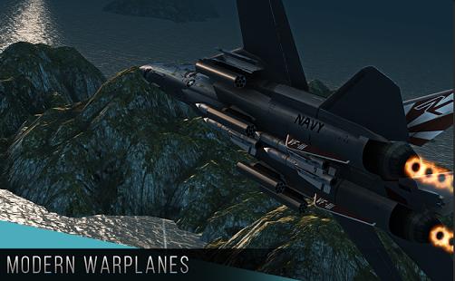 بازی اندروید هواپیماهای نظامی مدرن - Modern Warplanes
