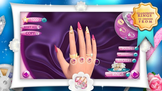 نرم افزار اندروید مد ناخن - Fashion Nails 3D Girls