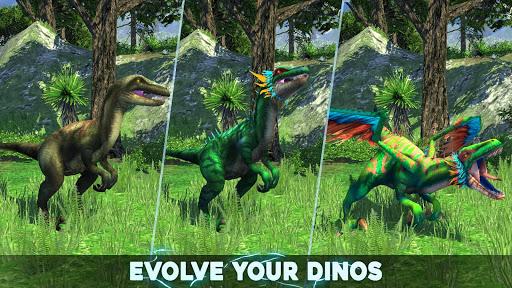 بازی اندروید مربی دایناسور - سواری ژوراستیک - Dino Tamers - Jurassic Riding MMO