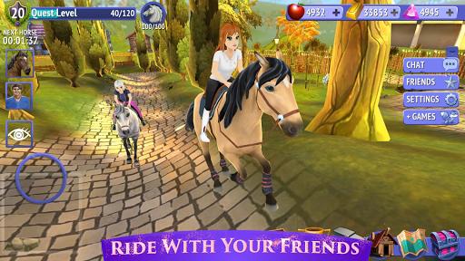 بازی اندروید اسب سواری با دوستان - Horse Riding Tales - Ride With Friends