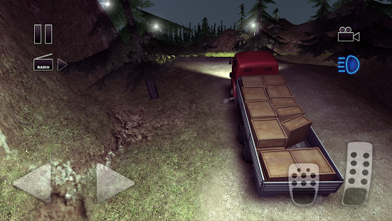 بازی اندروید راننده کامیون جاده دیوانه - Truck Driver crazy road