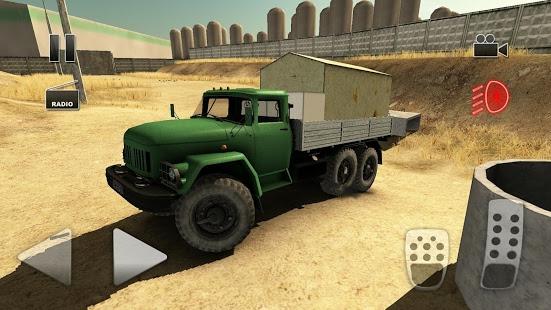 بازی اندروید راننده کامیون جاده 2 - Truck Driver Crazy Road 2