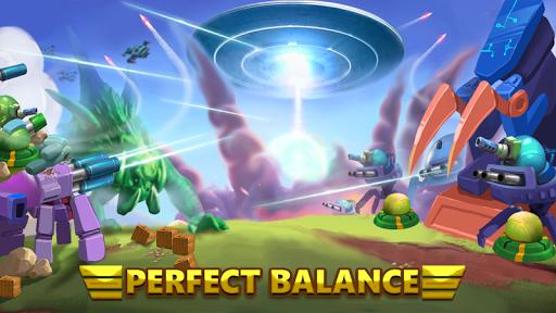 بازی اندروید برج دفاع - جنگ بیگانه 2 - Tower Defense: Alien War TD 2
