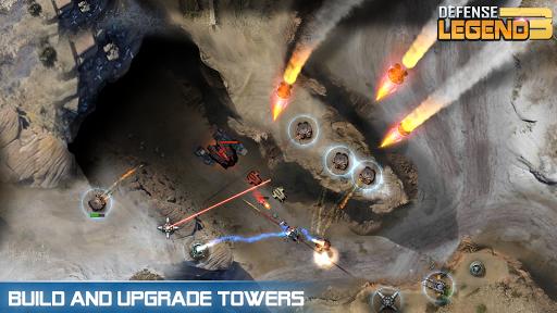 بازی اندروید دفاع افسانه ای 3 - جنگ آینده - Defense Legend 3: Future War