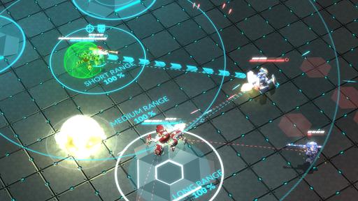 بازی اندروید گلادیابوتیک - عرصه مبارزه - GLADIABOTS - AI Combat Arena