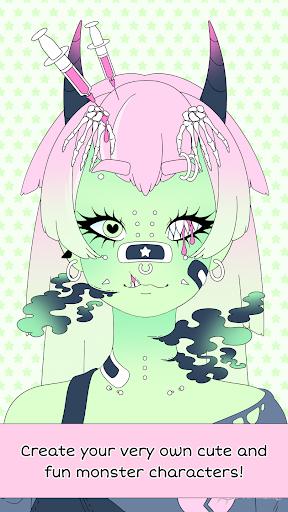 بازی اندروید هیولا ساز دختر - Monster Girl Maker