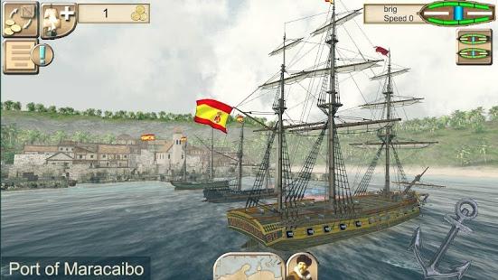 بازی اندروید دزدان دریایی - شکار کارائیب - The Pirate: Caribbean Hunt