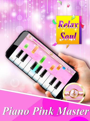 بازی اندروید استاد پیانو صورتی - کاشی موسیقی جادویی - Piano Pink Master : Magic Music Tiles