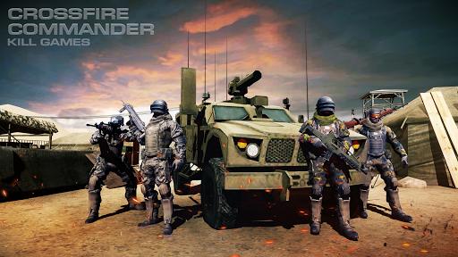 بازی اندروید فرمانده کراس فایر - Crossfire Commander:Kill Games