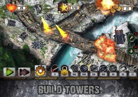 بازی اندروید دفاع از برج - نبرد تانک - Tower Defense: Tank WAR