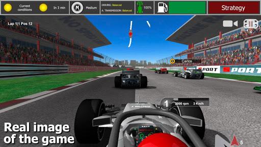 بازی اندروید مسابقه فرمول 1 - Fx Racer