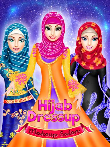 بازی اندروید پیراستن عروس با حجاب - سالن مد - Hijab Dressup & Wedding MakeUp - Fashion Salon