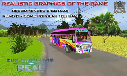 بازی اندروید شبیه ساز واقعی اتوبوس - Bus Simulator Real