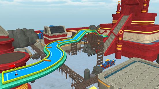 بازی اندروید گلف سه بعدی - Mini Golf 3D City Stars Arcade