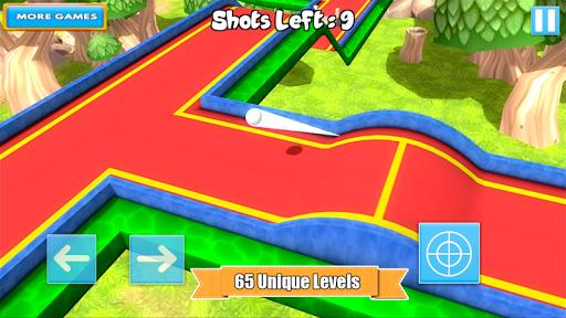 بازی اندروید مینی گلف جنگل - Mini Golf 3D Cartoon Forest