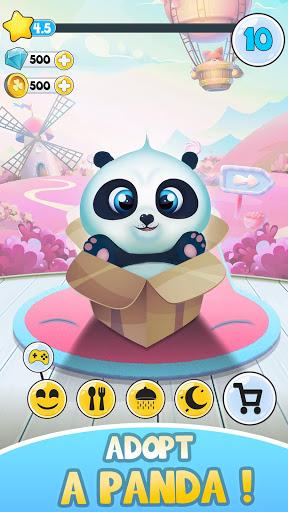 بازی اندروید خرس زیبا - مراقبت از حیوانات خانگی - Pu - Cute giant panda bear, baby pet care game